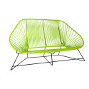 Green acapulco sofa 3 seats