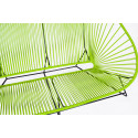 Green acapulco outdoor sofa zoom