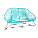 Turquoise acapulco sofa 3 seats