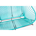 Turquoise acapulco outdoor sofa zoom