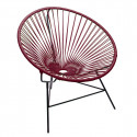 Purple Bordeaux Huatulco chair