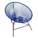 fauteuil Huatulco Bleu Nuit