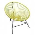 Lemon Yellow Huatulco chair