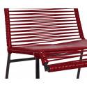 Bordeaux Rot Stuhl Spulen
