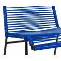 MarineBlau Stuhl Spulen