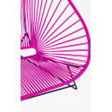 Details of Magenta Acapulco chair for 2