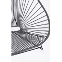 Details of Gray Acapulco chair for 2