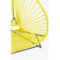 Details of Yellow Acapulco chair for 2