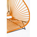 Details of orange Acapulco chair for 2