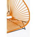 Orange acapulco stuhl fur 2 detail