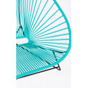 Details of Turquoise Acapulco chair for 2