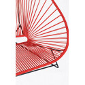 Details of Red Acapulco chair for 2