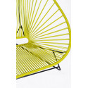 Details of Lemon Yellow Acapulco chair for 2
