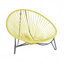 Lemon Yellow Tulum Lounger