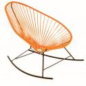 fauteuil à bascule Acapulco Orange