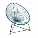 fauteuil Acapulco Enfant Bleu Canard