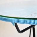 Mesa de comedor Azul