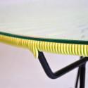 Mesa de comedor Amarillo Limon