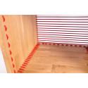 Shelf oak and red zooom