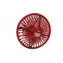 Lampe suspension Wixit ronde design Bordeaux