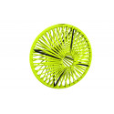 Lampe suspension Wixit ronde design Vert Anis