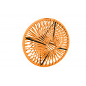 Lampe suspension Wixit ronde design Orange