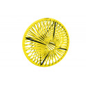 Lampe suspension Wixit ronde design Jaune
