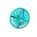 Lampe suspension Wixit ronde design Vert Turquoise