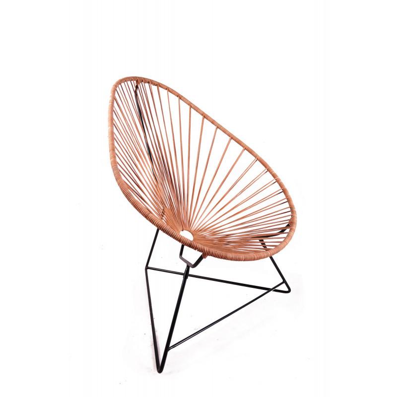 die acapulco ledersessel. Black Bedroom Furniture Sets. Home Design Ideas