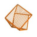Orange Detail Beistelltisch