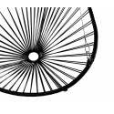 Details of Black Acapulco hanging chair