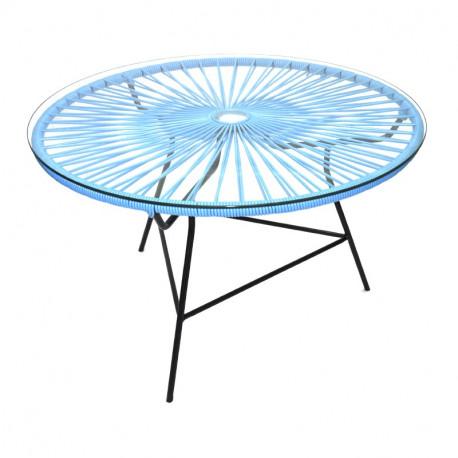 Blau design Couchtisch