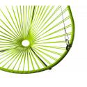 détail fauteuil suspendu Acapulco Vert Anis