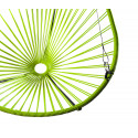 Details of Green Acapulco hanging chair