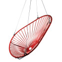 Red Acapulco swing chair