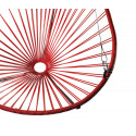 Details of Red Acapulco hanging chair