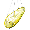 Yellow Acapulco swing chair