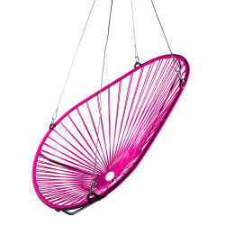 Magenta Acapulco swing chair