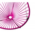 Details of Magenta Acapulco hanging chair