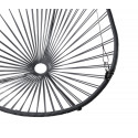Details of Gray Acapulco hanging chair