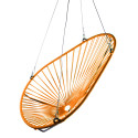 orange Acapulco swing chair