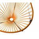 détail fauteuil suspendu Acapulco Orange