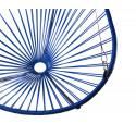 détail fauteuil suspendu Acapulco Bleu Nuit