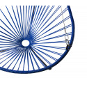 Details of Night Blue Acapulco hanging chair