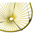 Details of Lemon Yellow Acapulco hanging chair
