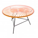 orange coffee table