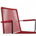 Chaise avec accoudoir Bordeaux