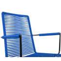 Night Blue Dining armrest wire chair