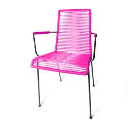 silla de comedor Fucsia