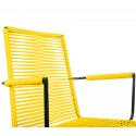 Gelb Armlehnstuhl